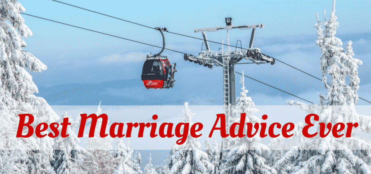 advice on marriage