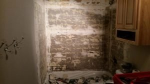 demolition shower