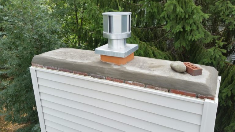 fix a chimney crown