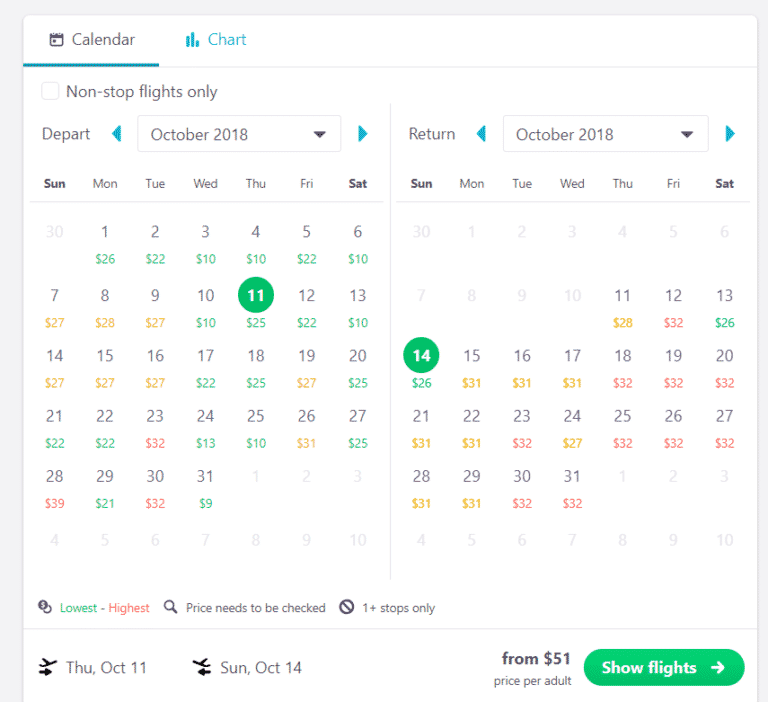 how to find cheap flights using skyscanner