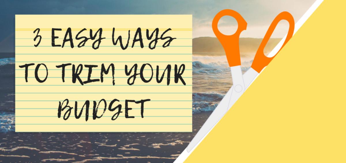trim a budget